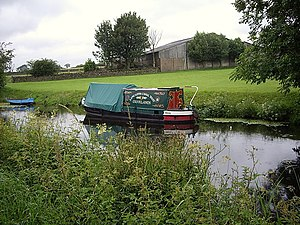 English: Lancaster Canal Trust narrow boat The...