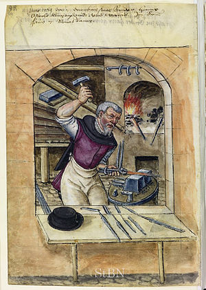 Bladesmith - Bladesmith, Nuremberg, 1569.