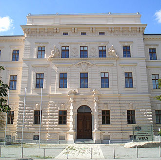 Judiciary of Austria - The seat of the Wels regional court