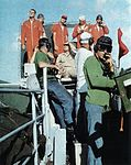 Landing Signal Officers on USS Oriskany (CVA-34) 1962.jpg