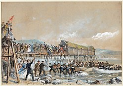 Landing of the Atlantic Cable of 1866, Heart's Content, Newfoundland.jpg