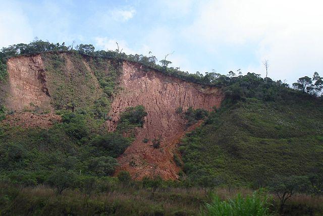 Zosuv svahu neďaleko Ria de Janeira