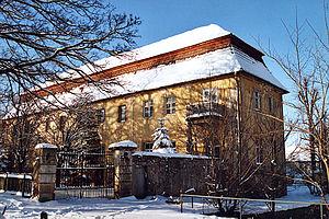 Bad Gottleuba-Berggießhübel - former manor in Langenhennersdorf