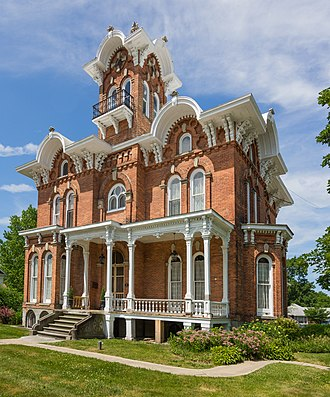 Branch County, Michigan - Image: Lanphere Pratt House