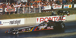 Larry Dixon (dragster driver) - Larry Dixon MGD dragster