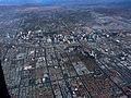 Las Vegas strip from the air (3192201540).jpg