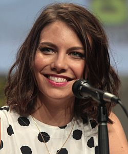 Lauren Cohan a 2014-es San Diego-i Comic-Con International rendezvényen