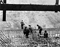 Layers of reinforcing bars at the tunnel intake, September 8, 1925 (SPWS 327).jpg