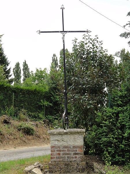Le Thuel (Aisne) croix de chemin