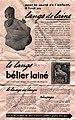 Le lange de laine Bélier Lainé.jpg