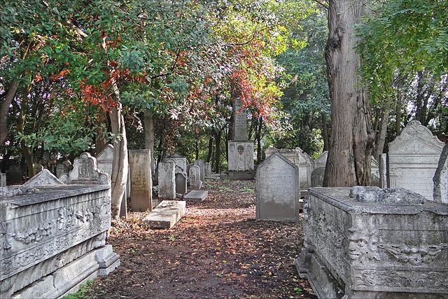 Cimetière juif de Venise
