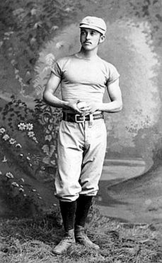 Charlie Bennett - Bennett caught the first perfect game in MLB history, thrown by Lee Richmond (pictured) in 1880.