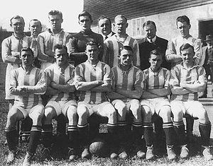 Leeds United F.C. - The first Leeds United team at the start of the 1920–21 season