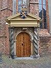 leeuwarden, grote kerk, oranjepoortje