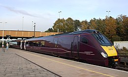 Leicester - Abellio 222104 Lincoln service.JPG