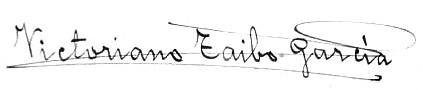 Lembranza da tecedeira, Victoriano Taibo, firma 15-9-1947