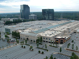 Outkast - André 3000 and Big Boi met as teenagers at Atlanta's Lenox Square shopping center (pictured).