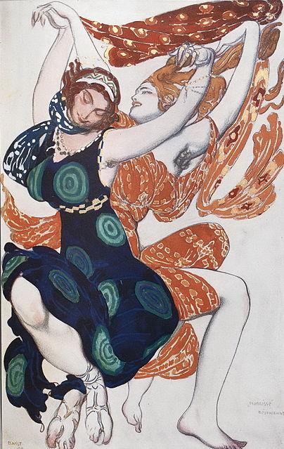 Léon Bakst - Peintre dans Peinture 404px-Leon_Bakst_003