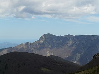 Montseny Massif - Les Agudes seen from the summit of El Matagalls