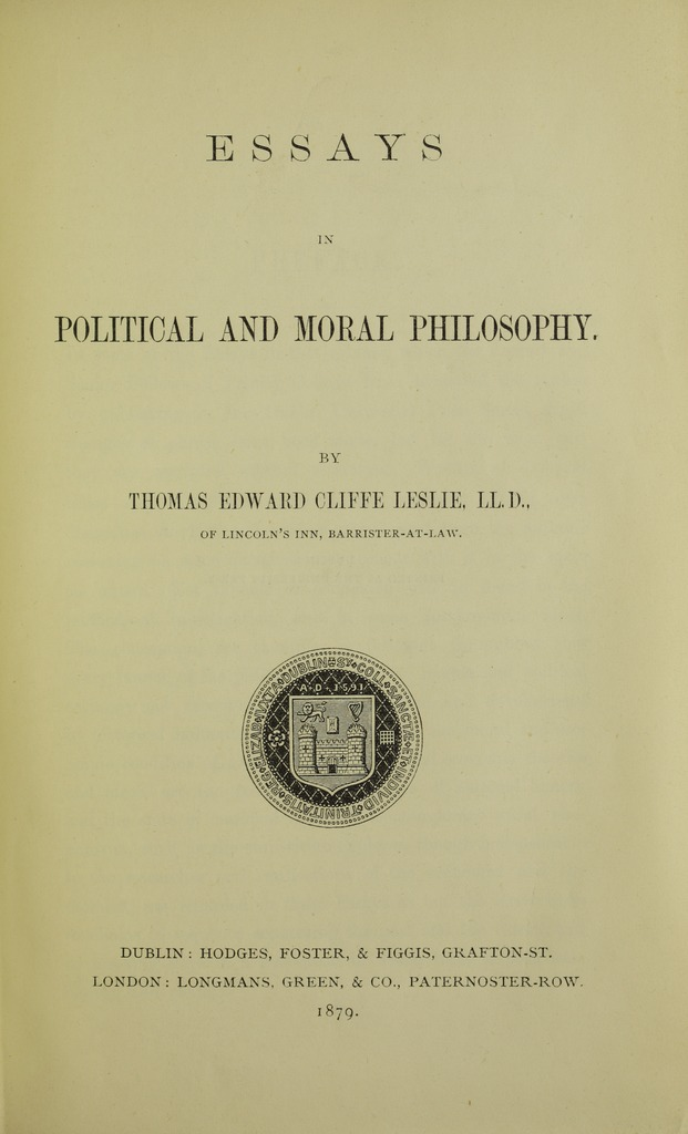 essays political and moral Read essays: moral, political and literary by david hume with rakuten kobo david hume (7 may 1711 25 august 1776) was a scottish philosopher, historian, economist, and essayist, known.