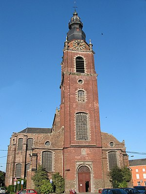 Leuze-en-Hainaut - Collegiate Church of St Peter