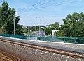 Libeň, Spojovací, z vlaku.jpg