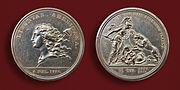 Libertas Americana silver medallion 1783