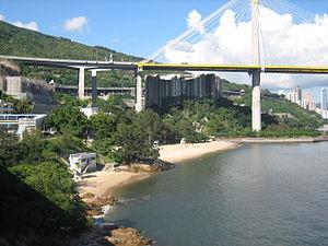 Lido Beach (Hong Kong) - View of Casam Beach (left) and Lido Beach (right)