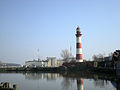 Liepaja lighthouse and port.JPG