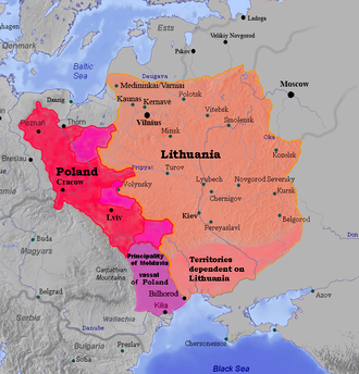 Union of Krewo - Poland and Lithuania in 1387