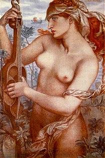 Ligeia Siren by Dante Gabriel Rossetti (1873).jpg