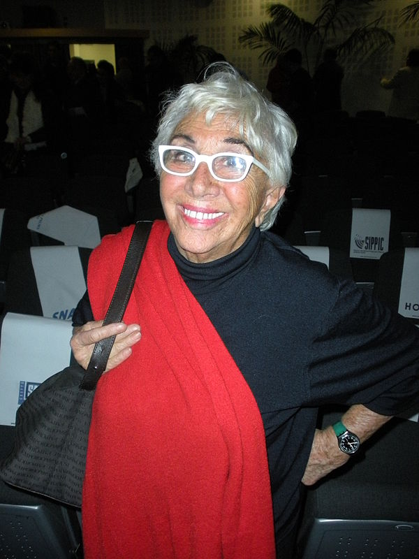 Photo Lina Wertmüller via Wikidata