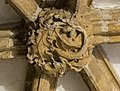 Lincoln Cathedral Slype Roof Boss, 2nd from S. (38433157450).jpg