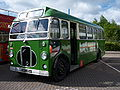 Lincolnshire bus 2485 Bristol SC4LK ECW OVL 494 Metrocentre rally 2009 (4).JPG