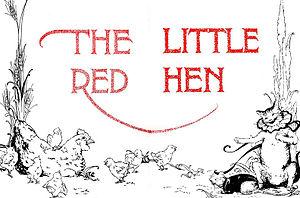 The Little Red Hen - The Little Red Hen, 1918 title page