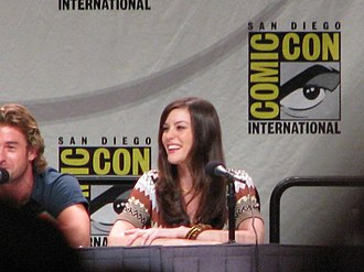 The Strangers (2008 film) - Scott Speedman and Liv Tyler promoting the film at the 2007 San Diego Comic Con.