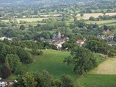Llanymynech from Llanymynech Hill - geograph.org.uk - 526878.jpg