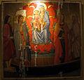 Lo scheggia, madonna col bambino tra i santi sebastiano, lazzaro, maddalena e marta, 1440-50 ca. 01.JPG