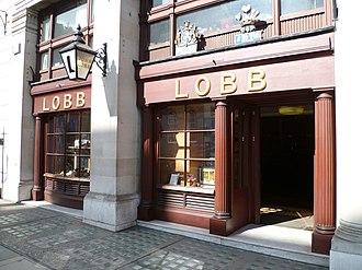 John Lobb Bootmaker - Image: Lobb bootmakers London