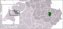 Location of Almelo