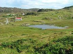 Lochan and houses near Calbost - geograph.org.uk - 926389.jpg