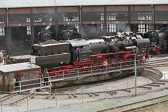 DR Class 52.80 - Image: Locomotive BR52 8080 5