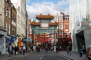 Chinatown, London Human settlement in England