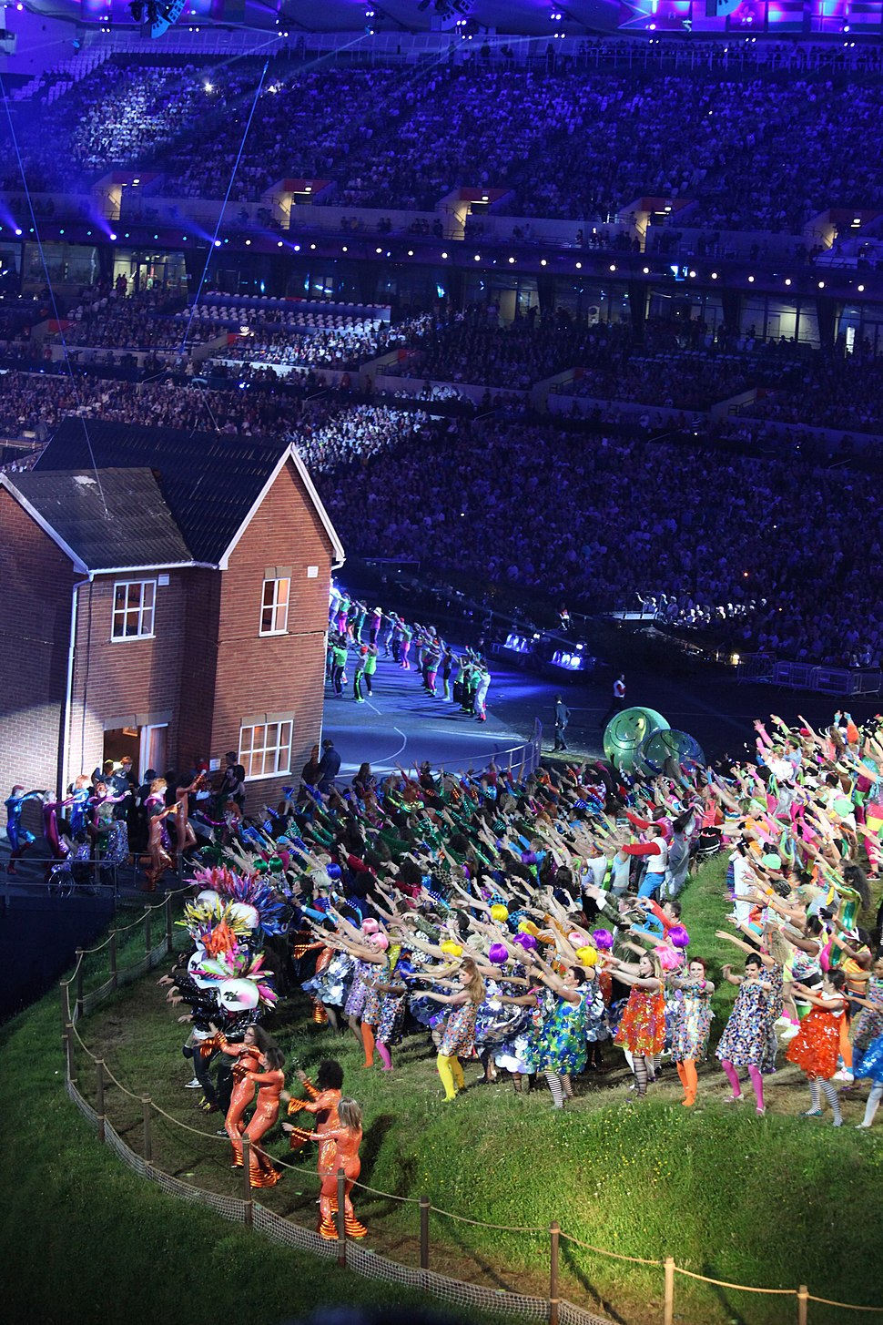 London 2012 Olympic Opening Ceremony - British Music section