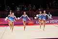 London 2012 Rhythmic Gymnastics - Team Belarus.jpg