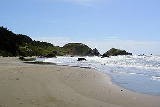 Samuel H. Boardman State Scenic Corridor - Image: Lone Ranch Beach