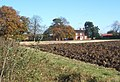 Looking across field to Red House Farm - geograph.org.uk - 586720.jpg