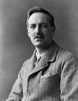 Lord Edward John Moreton Drax Plunkett Dunsany, half-length portrait, facing slightly left LCCN91780992.jpg