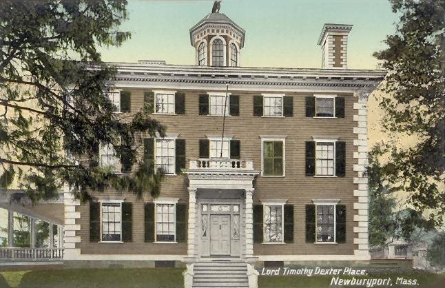 Lord Timothy Dexter Place, Newburyport, MA
