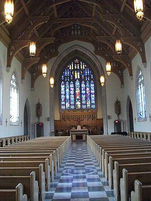 Loretto Abbey Catholic Secondary School - Image: Loretto Abbey Chapel